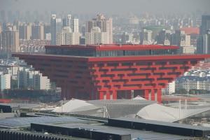 Den kinesiske paviljongen på Expo 2010