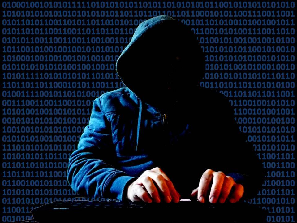 Klisje av ein hacker.